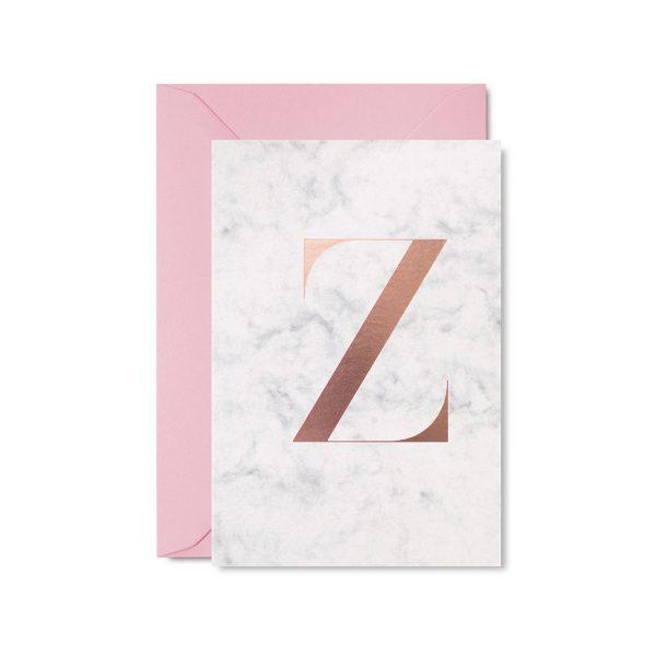 Marble Greeting Card by Studio Sarah